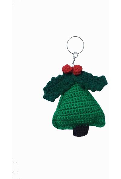 Capella Bag&belt Amigurumi Yılbaşı Ağacı Figürlü Anahtarlık
