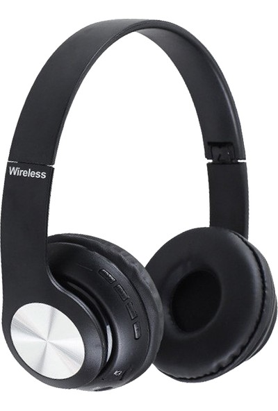 Powermaster 66BT Kulaküstü Kablosuz Hafıza Kart Girişli Bluetooth Kulaklık
