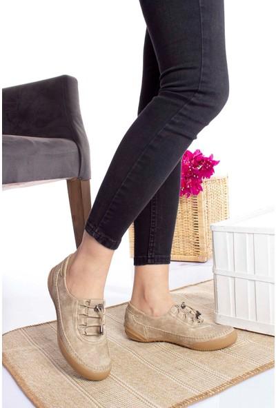 Epaavm Ped Vizon Kot Kadın Ayakkabı