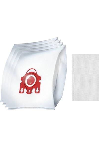 Miele Uyumlu Hyclean 3D Fjm 4'lü Toz Torbası