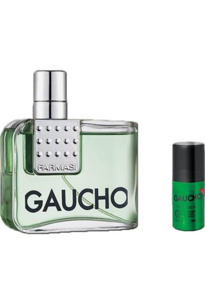 Farmasi Gaucho Edt 100 ml Erkek Parfüm ve Roll On Seti