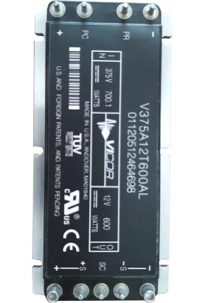 Vicor V375A12T600AL 375VDC/700W Giriş 12VDC/600W Çıkış Dc-Dc Çevirici