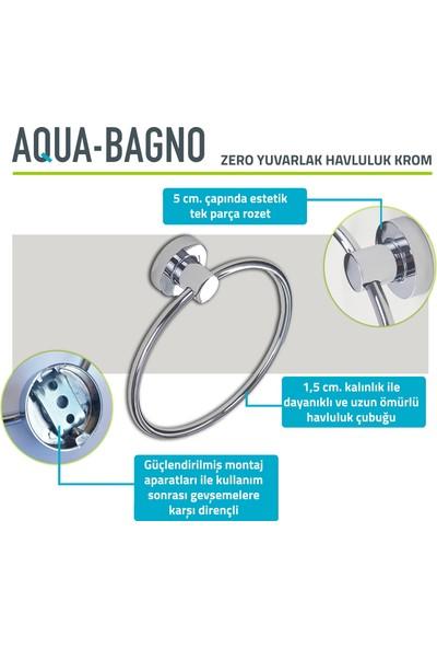 Aqua Bagno Yuvarlak Havluluk