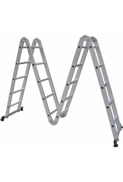 BALATLI Alimünyum Akrobat Merdiven 5 x 4 580 cm BLT-MR-KX2607