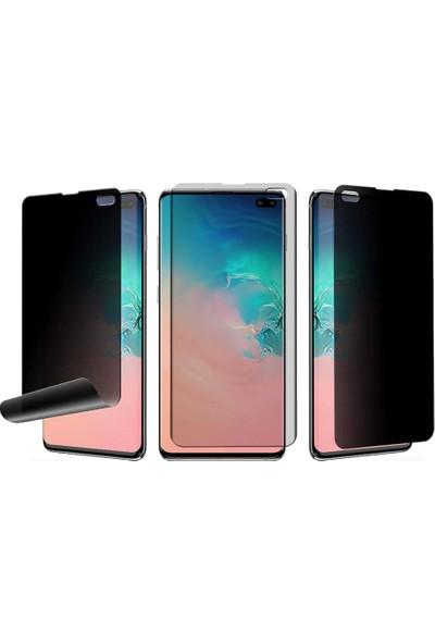 Vendas Samsung Note 10 Plus Privacy Hayalet Tam Kaplama Nano Ekran Koruyucu