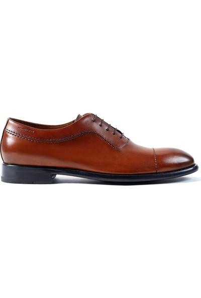 Hemington Erkek El Yapımı Taba Rengi Deri Ayakkabı