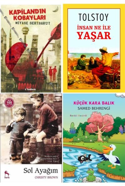Sol Ayağım - Insan Ne Ile Yaşar - Kapilandın Kobayları - Küçük Karabalık 4 Kitaplık Set