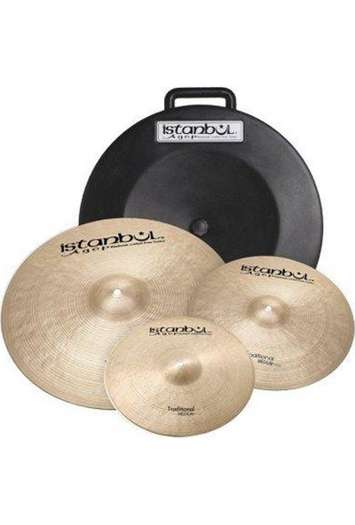İstanbul Agop Traditional Professional Cymbal Set Zil Seti