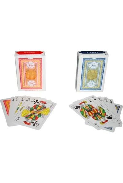 Star İskambil Oyun Kağıdı 52 x 2 Kart Çift Deste