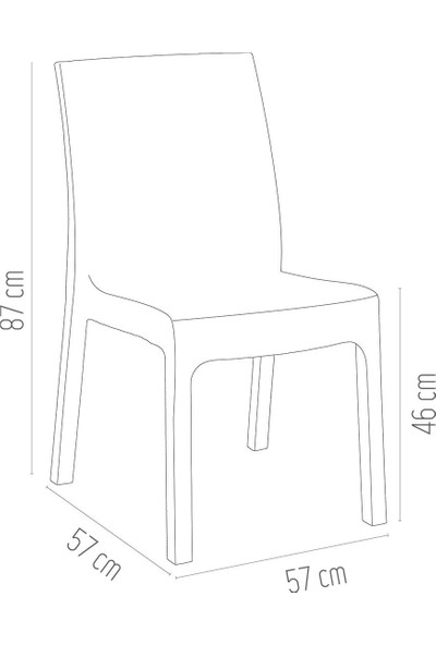Holiday Deluxe Rattan Sandalye | Bahçe & Balkon Sandalyesi