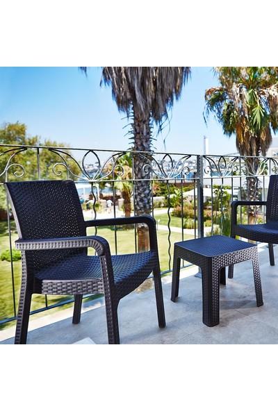 Holiday Markiz Rattan Koltuk | Bahçe & Balkon Koltuğu