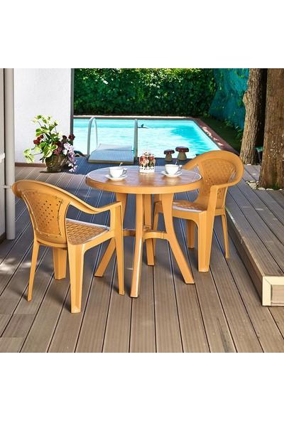 Holiday Royal Yuvarlak Masa   Bahçe & Balkon Masası