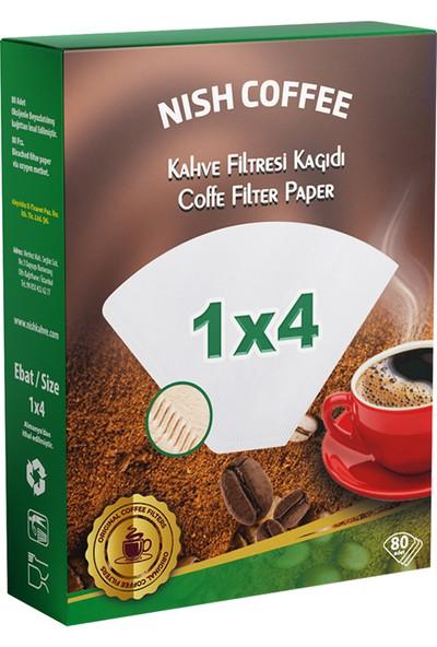 Filtre Kahve Kağıdı 1X4 80 Adet