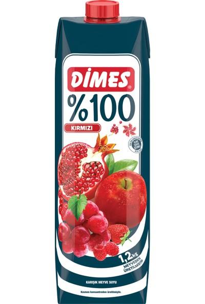 Dimes %100 Kırmızı Karışık 1 L