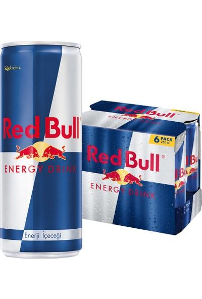 Red Bull Enerji İçeceği 6x250 ml