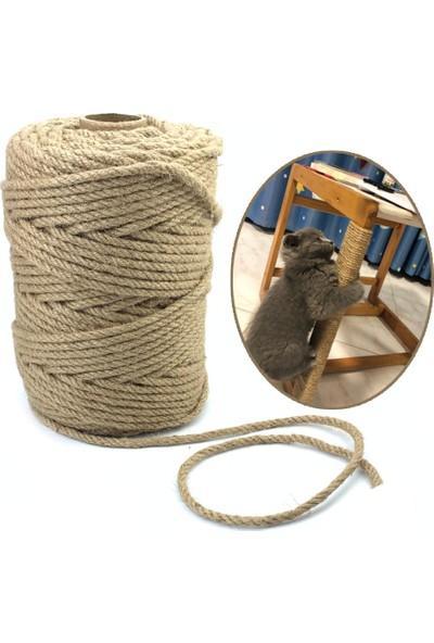 Alfa Kedi Tırmalama Ipi Sisal Halat 6 mm x 10 M