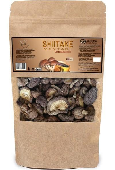 Agroma Shiitake Mantarı ( Lentinus Edodes ) Kuru 100 gr