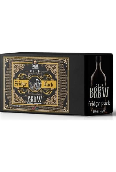 Kaldi COFFEE Cold Brew Fridge Pack 200 ml x 6 lı Kutu