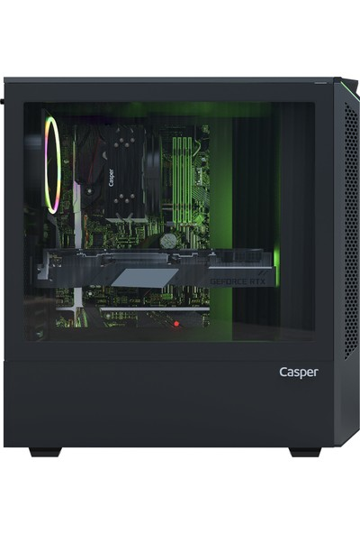Casper Excalibur E60B.101F-B7H0R-0HC Intel Core i3 10100F 16GB 1TB + 960GB SSD GTX1650 Windows 10 Pro Masaüstü Bilgisayar