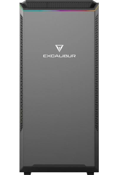 Casper Excalibur E60B.101F-81H0R-0HC Intel Core i3 10100F 8GB 1TB + 120GB SSD GTX1650 Windows 10 Pro Masaüstü Bilgisayar