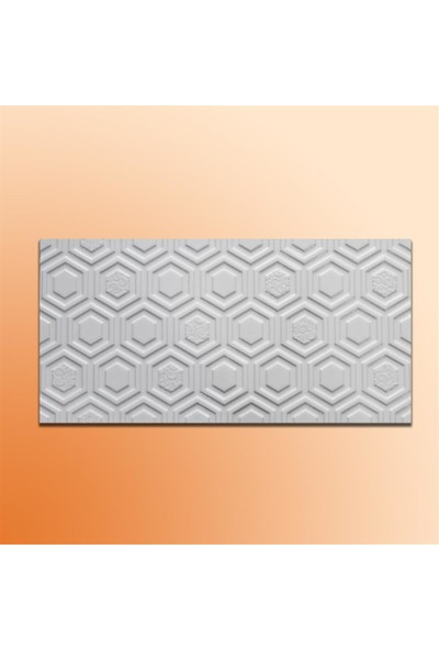 Mcm Mutfak Tezgah Arası Seramik Dekor Piero Petek Beyaz 30 x 60 cm