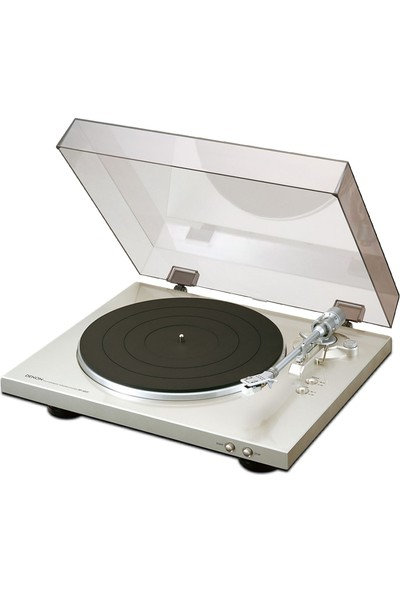 Denon DP-300F Silver Tam Otomatik Pikap - Turntable