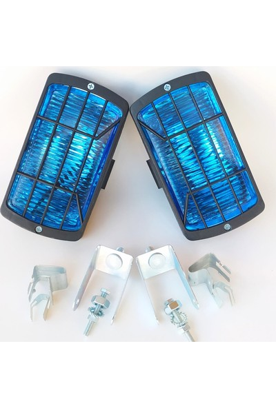 Arcars Fiat/tofaş/doğan Slx/kartal Slx Sis Lambası Takımı (Mavi Renk)