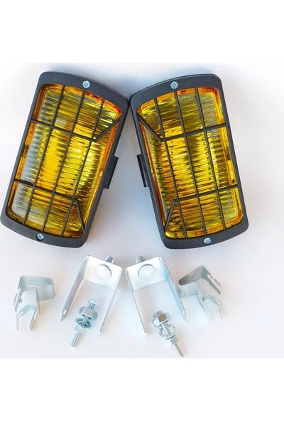 Arcars Fiat/tofaş/doğan Slx/kartal Slx Sis Lambası Takımı (Sarı)