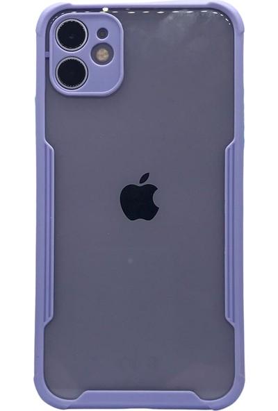 Gaga Apple iPhone 12 ve 12 Pro Lens Korumalı Arka Kapak