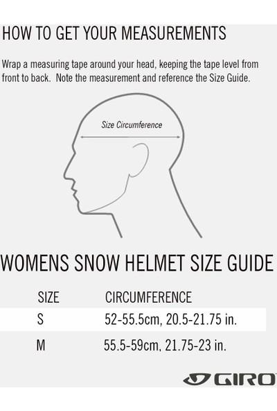 Giro Ceva Mıps Kadın Kayak Kaskı