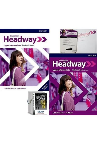Headway 5th Edition Upper-Intermediate Kodlu Set & Upper-Intermediate Words (Kelime Kartı B2)