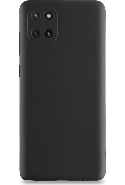 Kılıf Mania Samsung Galaxy Note 10 Lite Kılıf Kamera Korumalı Premier Silikon Kapak - Siyah