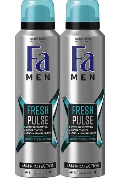 Fa Men Fresh Pulse 2'li Erkek Deodorant 150 ml