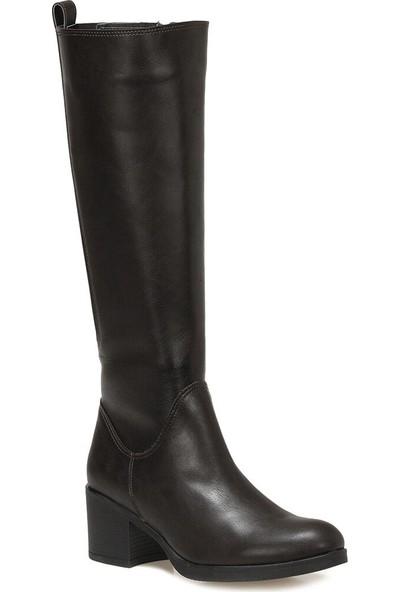 Polaris 316356.Z Kahverengi Kadın Ökçeli Çizme