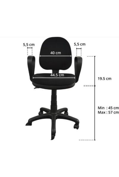 Ddtrend Yükseklik Ayarlı Tekerlekli Döner Ofis Personel Koltuğu - Bilgisayar , Çalışma Sandalyesi
