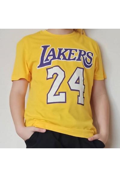 Ysk Giyim Lakers Sarı T-Shirt