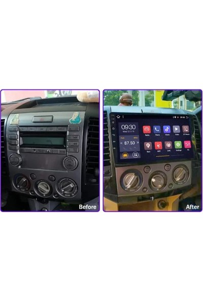 Nicsy Mazda Bt 50 Model Multimedya Gps Dokunmatik Ekran 2-32GB