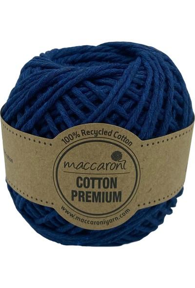 Maccaroni Cotton Premium Tek Büküm Tarama Makrome Hobi İpi 100 gr 85 M 2 mm
