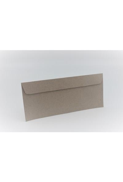 Zarfsan Diplomat Düz Kraft Zarf 10,5 x 24 cm 500'lü