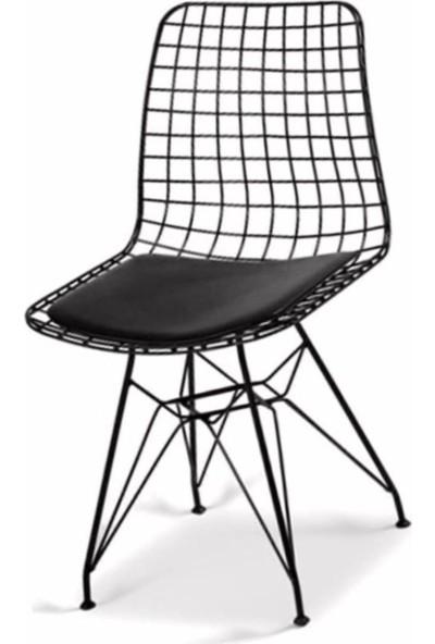 Coşar Group Masa Sandalye Takımı Mermer Desen 120X70 cm Masa 4 Sandalye Seti