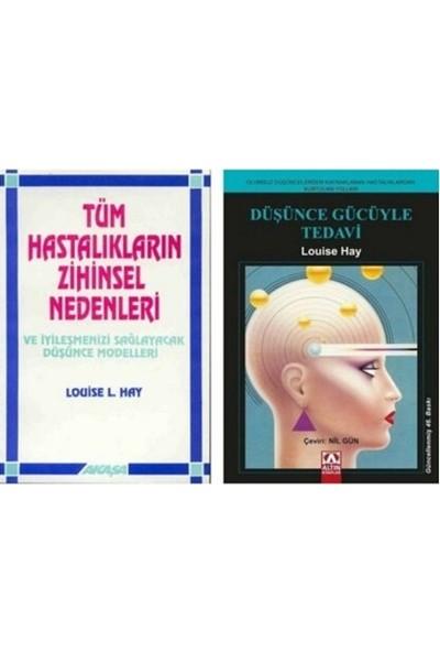 Tüm Hastalıkların Zihinsel Nedenleri - Düşünce Gücüyle Tedavi 2 Kitap Takım - Louise L. Hay