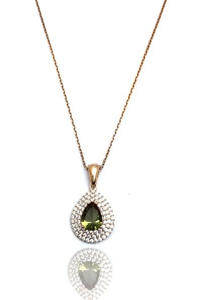 Midyat Gümüş Dünyası Ros Kaplama Özel Tasarım Zultanit Taşlı Üçlü SET(STOK:20201111)