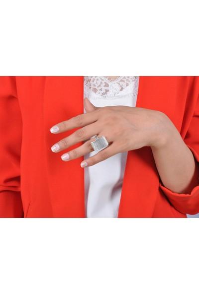 Midyat Gümüş Dünyası Çizgi Model Telkari Gümüş Bayan Üçlü Takım (Kod 2020729)