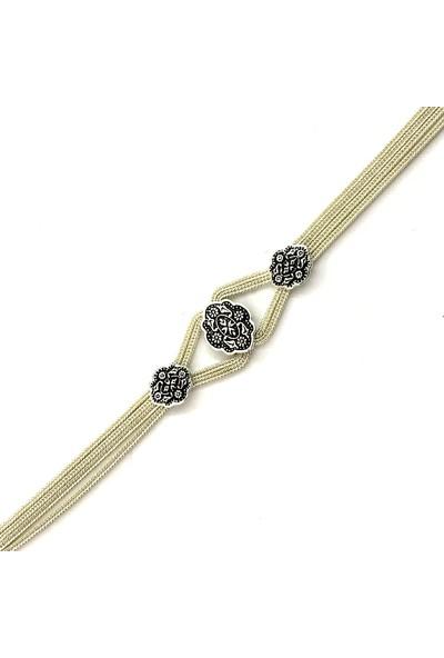 Midyat Gümüş Dünyası Mardin Hasırı Gümüş Bayan Üçlü Takım (Kod 2020145)