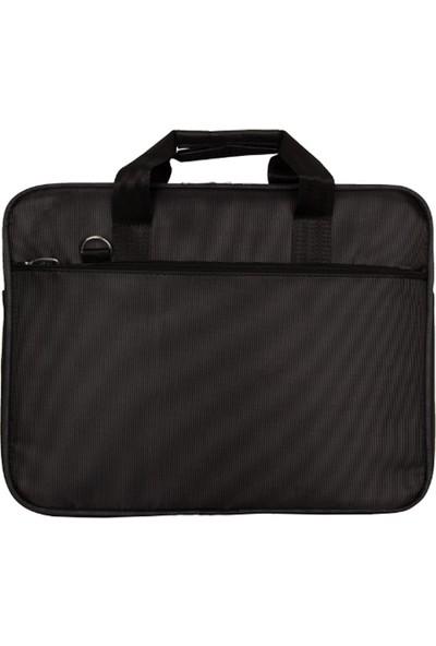 """PLM 17"""" Laptop Çantası / 17 Inç Kumaş Evrak Laptop Çantası"""