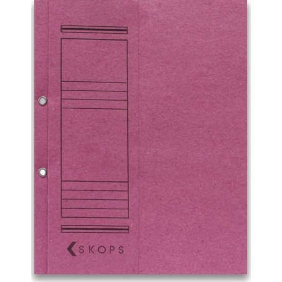 Skops Yarım Kapak Kapsüllü Karton Dosya 25'li