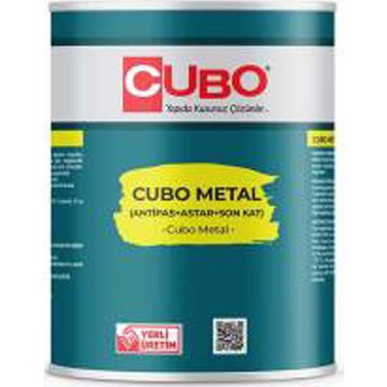 Cubo 0,75 Lt Metal Boya