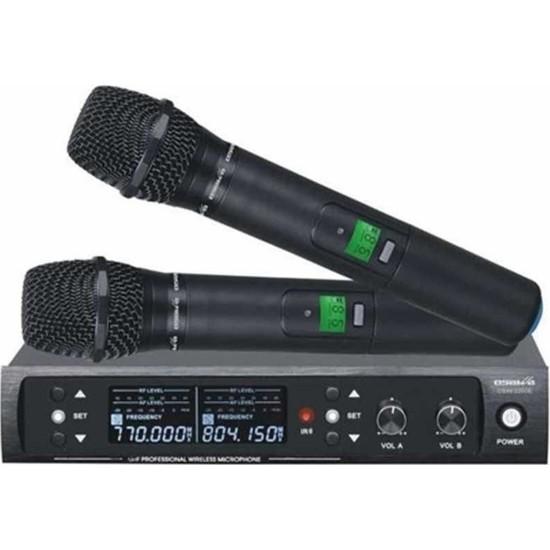 Dexun D-550E Uhf Dijital Iki Kanal Telsiz Çift El Mikrofon