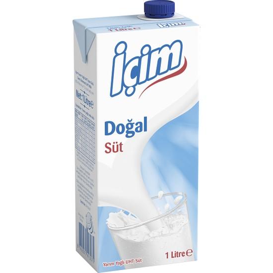 İçim Yarım Yağlı Süt 1 L