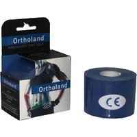 Ortholand Koyu Mavi Renk Kinesio Bandı, Spor Kas Ağrı 5cm*5mt